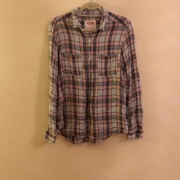 a88b0a7c Mossimo Supply Co. Tops | Mossimo Boyfriend Shirt | Poshmark